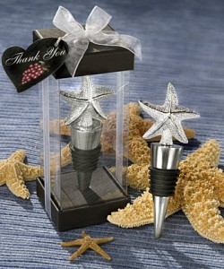 Beach themed gifts and favors add a touch of nature in the most