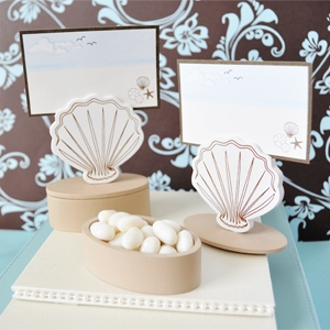 shell themed favors
